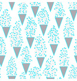 Cute seamless pattern with many small twigs vector image vector image