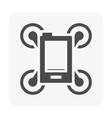 drone equipment icon vector image vector image