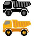 dumper truck vector image vector image