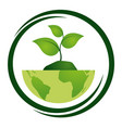 eco friendly environment vector image