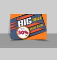 flyer design sales file eps 10 vector image vector image