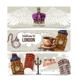 London Horizontal Banners vector image vector image