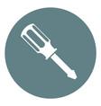screwdriver vector image vector image