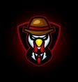 turkey chicken e sport logo design vector image