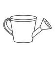 watering can cartoon vector image