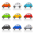 retro style cars vector image