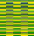 Concept of a Brazilian flag vector image vector image