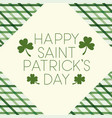 happy patricks day label isolated icon vector image vector image