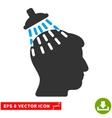 Head Shower Eps Icon vector image vector image