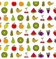 healthy fruits design vector image vector image