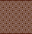 seamless brown beige tile pattern vector image vector image