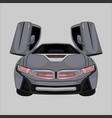 sport car bmw i8 vector image vector image