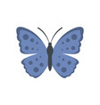 spring butterfly icon flat style vector image