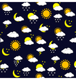 weather forecast background vector image