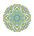 flower mandalas vintage decorative elements vector image vector image