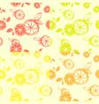 four wallpaper citrus seamless pattern print vector image vector image