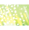 Nature sunshine background vector image
