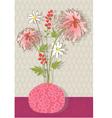 chrysanthemum vector image vector image