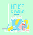 house cleaning cleaning vector image vector image