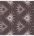 Retro optical seamless pattern vector image vector image