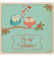 valentines card04 vector image vector image