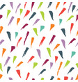 abstract pattern with brush strokes colorful vector image vector image