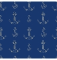 Anchors Seamless Pattern vector image