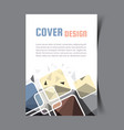 cover design template12 vector image