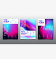 design layout bright color background gradient vector image
