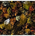 foliage texture vector image vector image