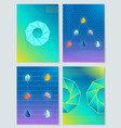 stones and shapes collection vector image vector image