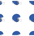 Universal american football seamless vector image