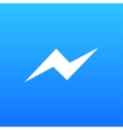 modern chat app icon on white vector image