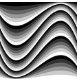abstract black white seamless pattern vector image