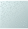 background with a lot water drops vector image vector image
