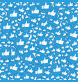 blue hand likes signs background social network vector image vector image