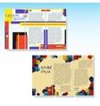 Brochures3 vector image