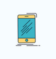 device mobile phone smartphone telephone flat vector image