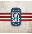 Independence Day Sale special Banner vector image vector image