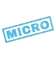 Micro Rubber Stamp vector image vector image