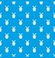 mill pattern seamless blue vector image vector image