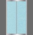 shower door vector image vector image