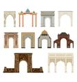 Arch set vector image