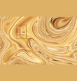 abstract mixed light brown colors vector image vector image