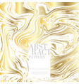 abstract pop art pattern marble element gold vector image