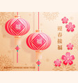 chinese new year the year of the pig vector image vector image