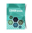cover design template2 vector image