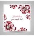 FloralCard vector image vector image