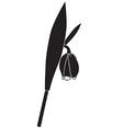Fritillaria vector image vector image
