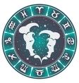 Gemini zodiac sign vector image vector image